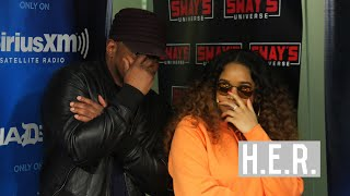 Download H.E.R. Talks About New Music, Building with Janet Jackson & Rihanna and Touring with Chris Brown Video