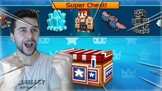 Download AMAZING BATTLE ROYALE SUPER CHEST OPENING! MY BEST OPENING YET! | Pixel Gun 3D Video