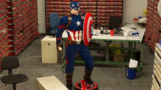 Download How LEGO built a life-size Captain America for Comic Con Video