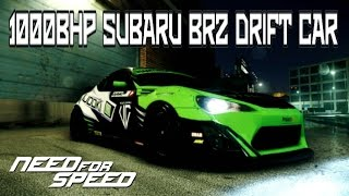 Download Need For Speed 2015 SUBARU BRZ 1000BHP DRIFT CAR BUILD (CUSTOMIZATION) Video