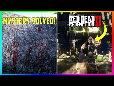 These SECRET Alien Paintings Solve One The BIGGEST Mysteries Of ALL Time In Red Dead Redemption 2!
