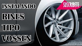 Download INSTALANDO NUEVOS RINES TIPO VOSSEN CVT Video