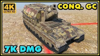 Download Conqueror GC - 7 Kills - 7K Damage - World of Tanks Gameplay Video
