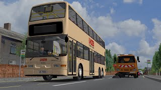 Download Dennis DM Trident KMB ZF Trial in Gainsborough | Omsi 2 Video