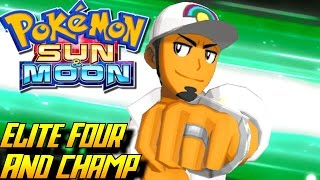 Download Pokémon Sun and Moon - Elite Four & Champion Kukui Battle! ENDING Video