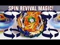 Beyblade SPIN REVIVAL MAGIC: FULL STOP SPIN STEAL [Wizard Fafnir] - Beyblade Burst GT