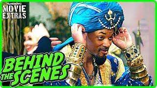 Download ALADDIN (2019) | Behind the Scenes of Will Smith Disney Classic Live-Action Movie Video