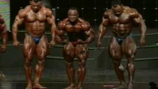 Download 2009 Arnold Classic Posedown Video