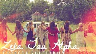 Download Zeta Tau Alpha (ZTA) Georgia Southern University Recruitment Video 2015 Video