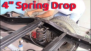 Download chevy c10 4''drop on rear Video