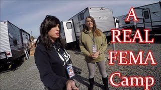 Download FEMA Trailer Park & Housing Tour for Wildfire Fire Victims ..The Great Santa Rosa Fire Video