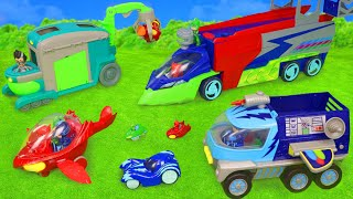 Download PJ Masks Toys: Cars from Catboy, Gekko, Owlette & Romeo Toy Vehicles for Kids Video