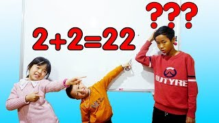 Download Hunter Kids Go To School Learn Colors Math Test Number   Classroom Funny Nursery Rhymes Video