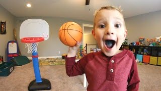 Download FATHER SON BASKETBALL TIME! Video