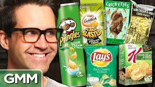 Download Snack Taste Test: Sour Cream & Onion Video
