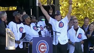 Download FULL EVENT: Chicago Cubs World Series Rally | Full Speeches Video