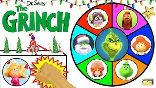 Download THE NEW GRINCH MOVIE Spinning Wheel Game w/ Surprise Toys from 2018 GRINCH Video