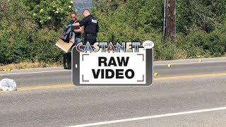Download Crime scene on Lakeshore Road Video