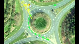 Download Which lane to exit a roundabout after turning right? Driving Lessons #14 Video