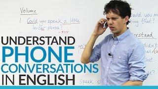 Download Conversation Skills – Understand PHONE conversations in English Video