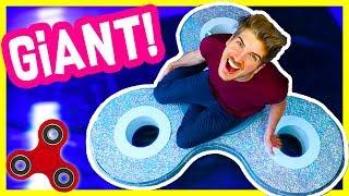 Download DIY GIANT FIDGET SPINNER! Video