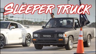 Download Sleeper Toyota Pickup Truck SURPRISES EVERYONE! McLaren 720s - GTR - 300zx Video