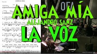 Download Alejandro Sanz ″Amiga mía″ ensayos La Voz España Video