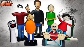 Download ALL CHARACTERS! ★ Baldi's Basics in Education and Learning ➤ Polymer clay Tutorial Giovy Video