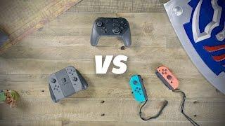 Download Nintendo Switch Joy-Cons vs Pro Controller Video