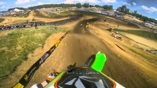 Download GoPro HD: Ryan Villopoto Full Moto 2 - Muddy Creek Lucas Oil Pro Motocross Championship 2013 Video
