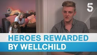 Download Wellchild Awards: Meeting the 'Most Caring Young Person' - 5 News Video
