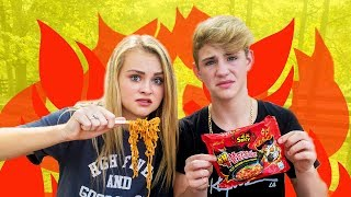 Download NUCLEAR FIRE NOODLE CHALLENGE (I CRIED) Video