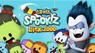Download SPOOKIZ LINK 2000 | 3 Match Linking Mobile Puzzle Game | Official Trailer |스푸키즈 | Best Apps for Kids Video