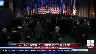 Download Full Event: Donald Trump Victory Speech 11/8/16 Video