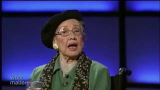 Download Katherine Johnson talking about her experience with astronaut John Glenn Video