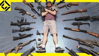 Download Massive Airsoft Arsenal - Best, Weird, & Rare Guns Video