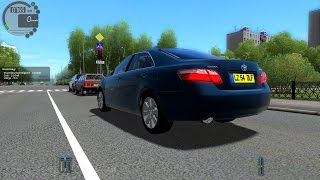 Download City Car Driving 1.4.0 Toyota Camry 2008 [1080P] Video