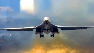 Download B-1 Bomber In Action – Stunning Beautiful Footages Video