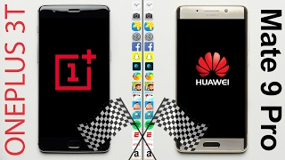 Download OnePlus 3T vs. Huawei Mate 9 Pro Speed Test Video