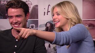 Download Chloë Grace Moretz and Jamie Blackley play 'Would You Rather' - Movies With Milan Video