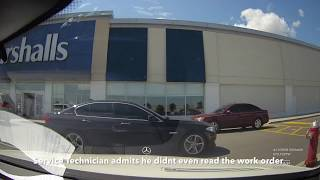 Download Mercedes Benz Canada Service Fraud - Mississauga S63 AMG Service Appointment Dashcam Video! Video