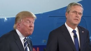 Download Trump, Bush square off over casinos in Florida Video