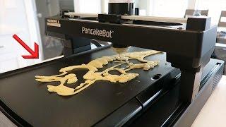 Download Print your BREAKFAST - NEW 3D Pancake Printer!! Video