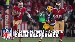 Download Colin Kaepernick Shreds the Packers | NFL 2012 Divisional Round Highlights Video
