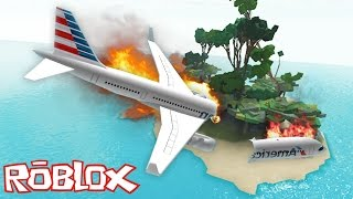 Download Roblox - The Island - PLANE CRASH INTO DEMON ISLAND!! Video