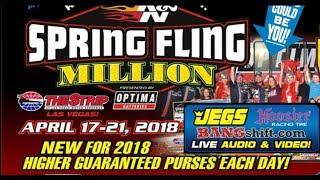 Download Spring Fling Million 2018 Racepak $30k Thursday Video