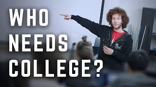 Download Why This MIT Dropout Started an Anti-College Video