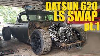 Download DATSUN 620 LS SWAP pt. 1 Video