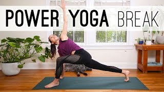 Download Power Yoga Break   Yoga For Weight Loss   Yoga With Adriene Video