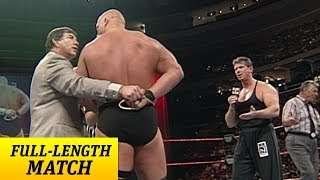 Download ″Stone Cold″ Steve Austin battles Mr. McMahon with one arm tied behind his back Video